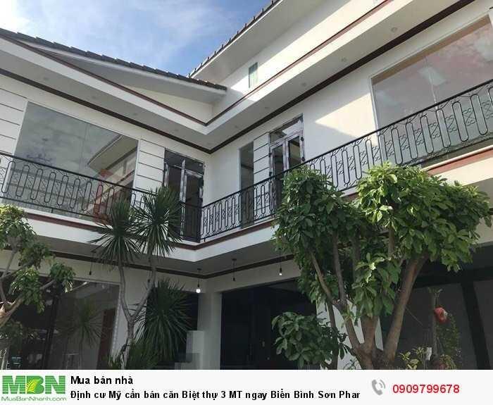 Định cư Mỹ cần bán căn Biệt thự 3 MT ngay Biển Bình Sơn Phan Rang