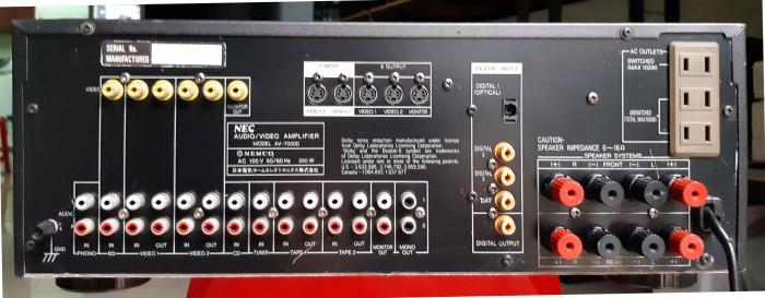 Ampli Digital Surround NEC AV 7000D Hàng nội địa Nhật15