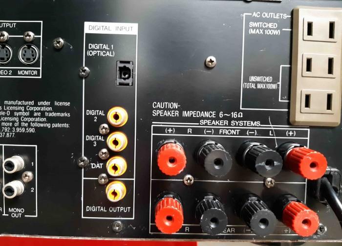 Ampli Digital Surround NEC AV 7000D Hàng nội địa Nhật14