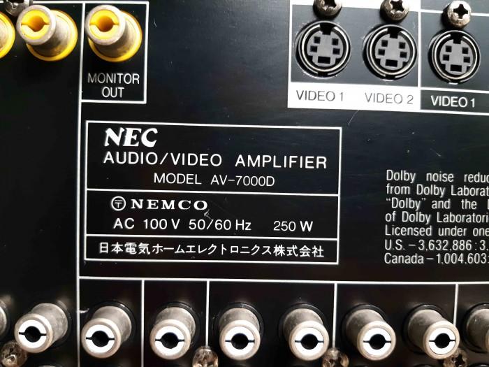 Ampli Digital Surround NEC AV 7000D Hàng nội địa Nhật13