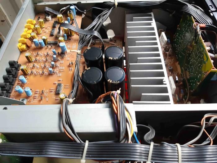 Ampli Digital Surround NEC AV 7000D Hàng nội địa Nhật7