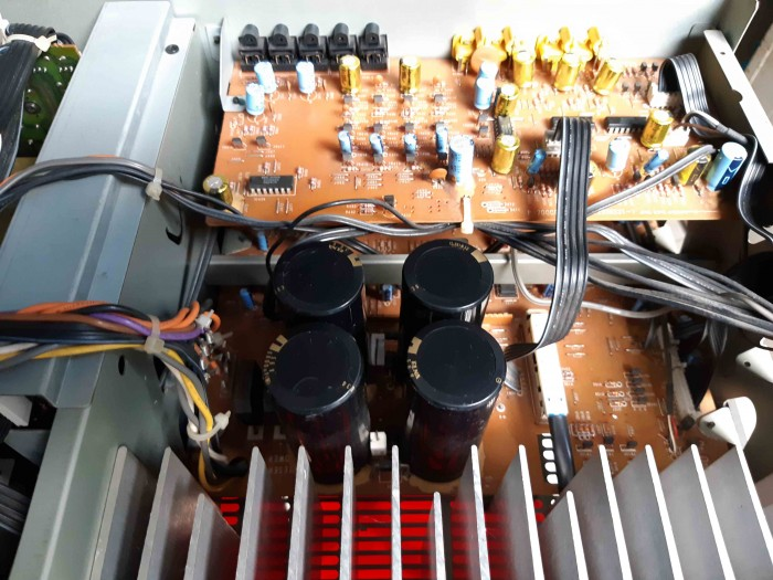 Ampli Digital Surround NEC AV 7000D Hàng nội địa Nhật5