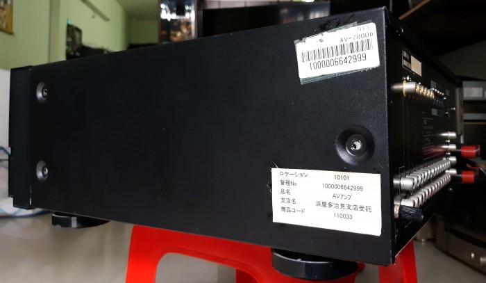 Ampli Digital Surround NEC AV 7000D Hàng nội địa Nhật3