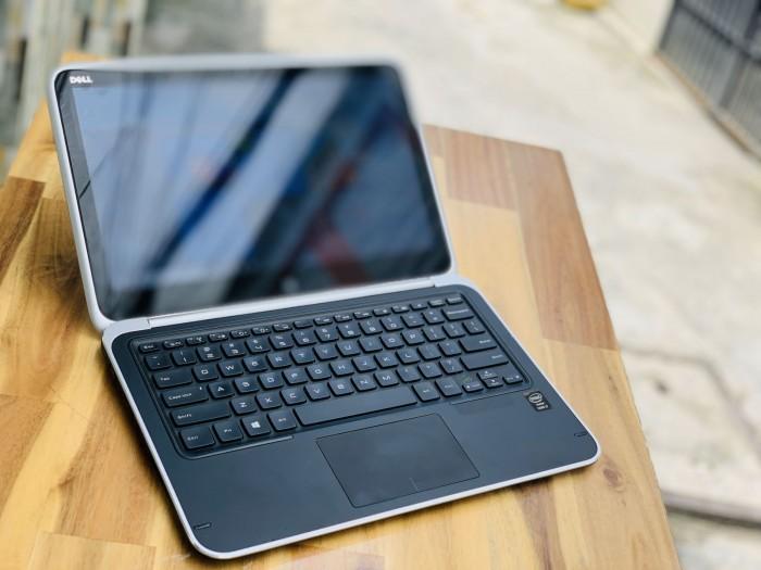 Laptop Dell XPS 12 9Q33, I7 4500U 8G SSD256 Full HD Cảm ứng Xoay 360 độ Đẹp keng zin 100% Giá rẻ0