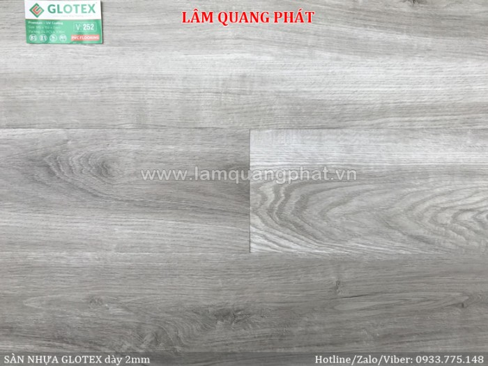 Sàn nhựa giả gỗ Glotex V2522
