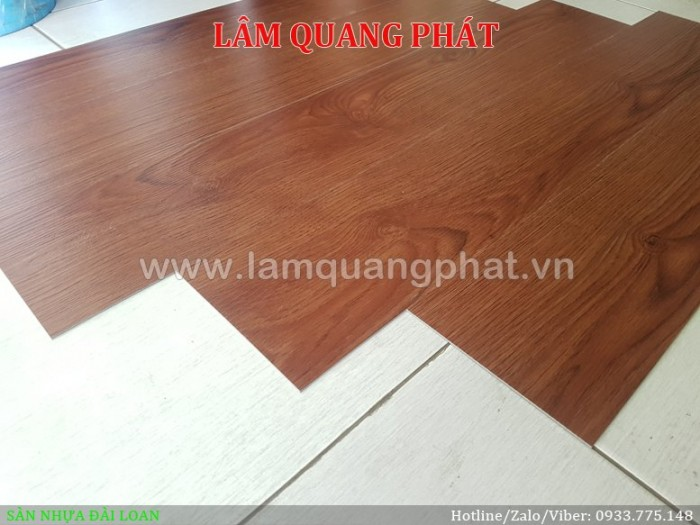 Sàn nhựa vân gỗ Đài Loan 52100