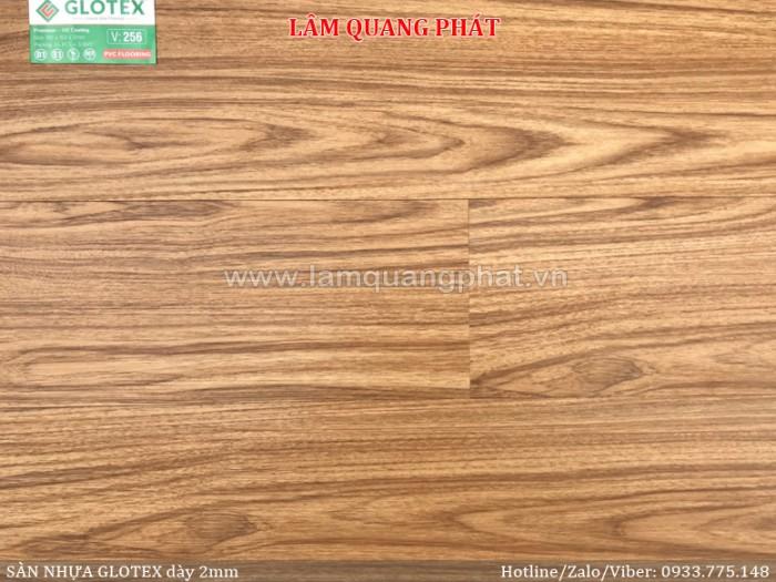 Sàn nhựa vân gỗ Glotex V2560