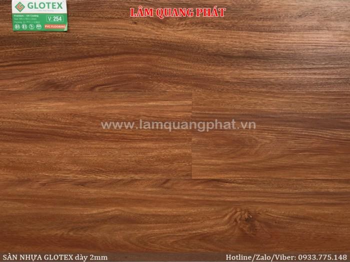 Sàn nhựa vân gỗ Glotex V2540