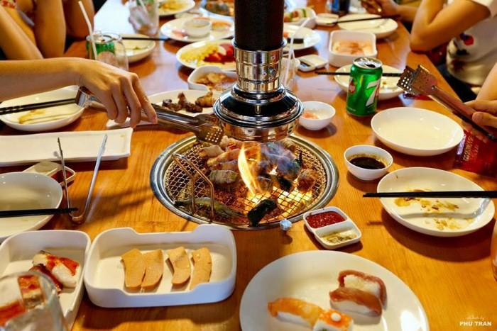 Bếp nướng hút dương Hàn Quốc3