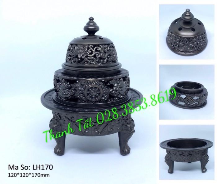 Đỉnh Đốt Trầm Hương LH1702