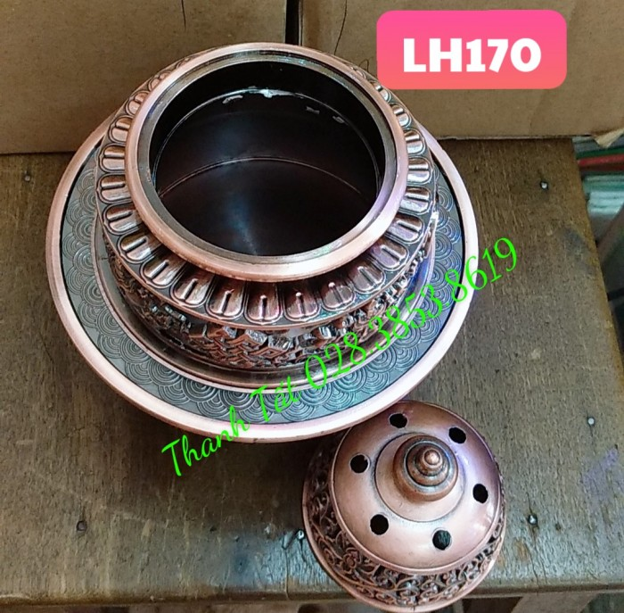 Đỉnh Đốt Trầm Hương LH1701