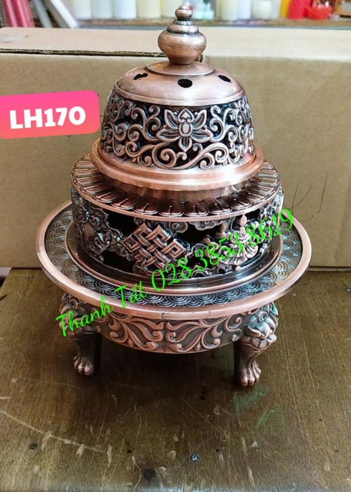 Đỉnh Đốt Trầm Hương LH1700