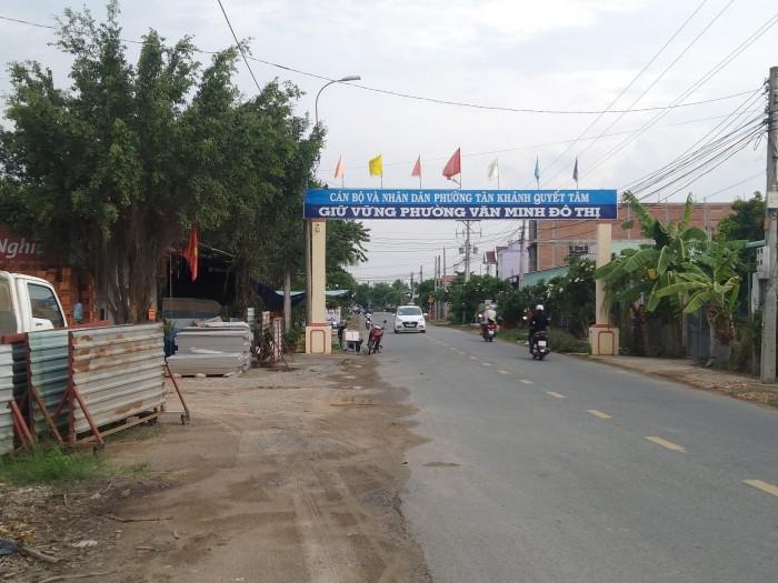 Bán nhà đất phường Tân Khánh ngay cầu Thủ Tửu, nhà cấp 4