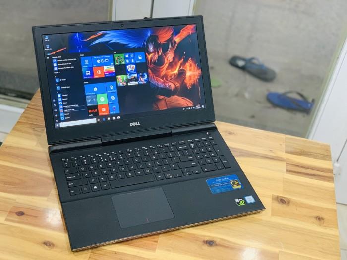 Laptop Dell Gaming 7566, i7 6700HQ 8G SSD128+500G Vga GTX960M 4G FULL HD Đèn p3