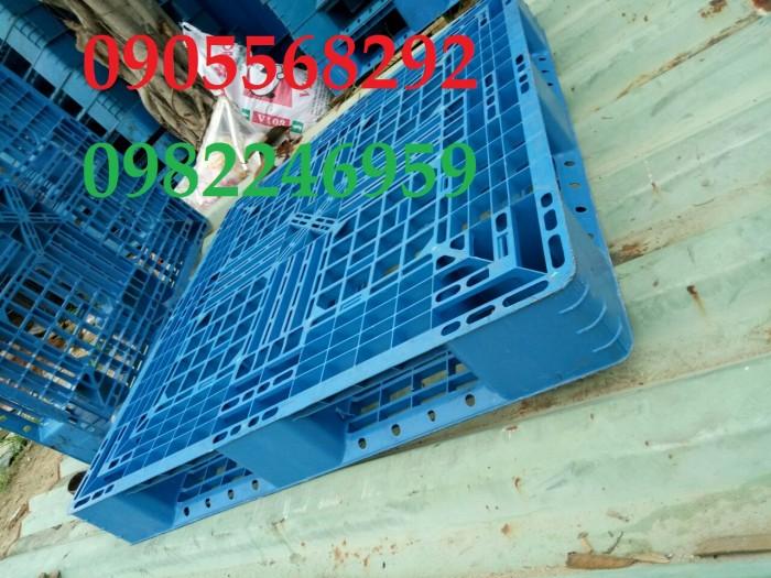 pallet nhựa xanh ngọc 1100x1100x150mm1
