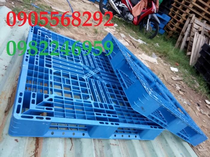 pallet nhựa xanh ngọc rẻ Hồ Chí Minh, Bình Dương, Đồng Nai,8