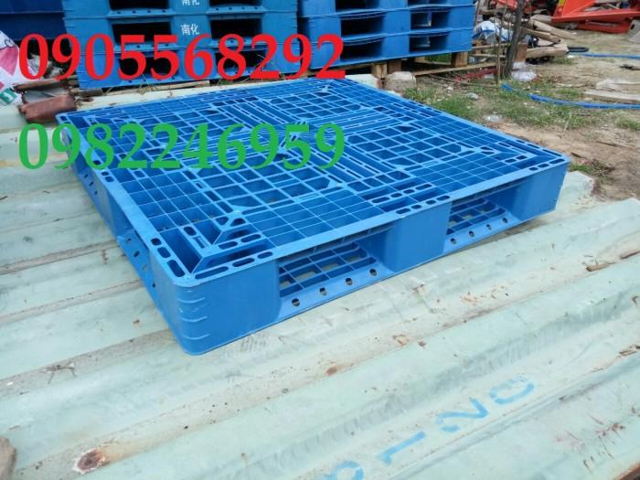 pallet nhựa xanh ngọc rẻ Hồ Chí Minh, Bình Dương, Đồng Nai,4