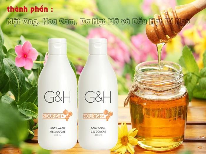 Sữa tắm dưỡng ẩm dạng kem G&H Nourish+ 400ml từ Mỹ 1181073