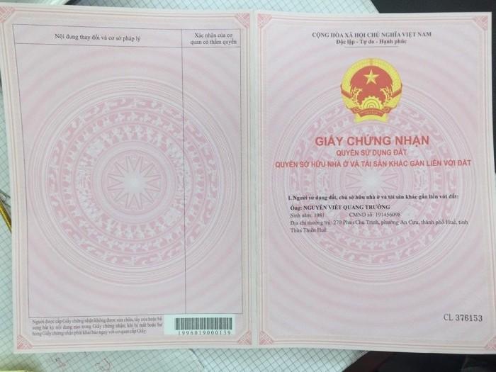 bán đất kiệt 173 Sóng Hồng - Phường Phú Bài – Tp Huế