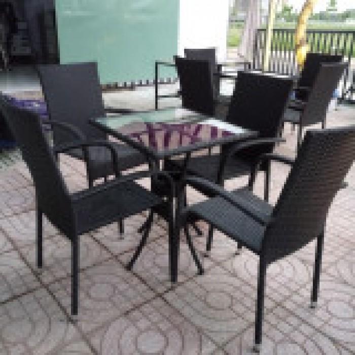 bàn ghế caffe sân vườn hgh027