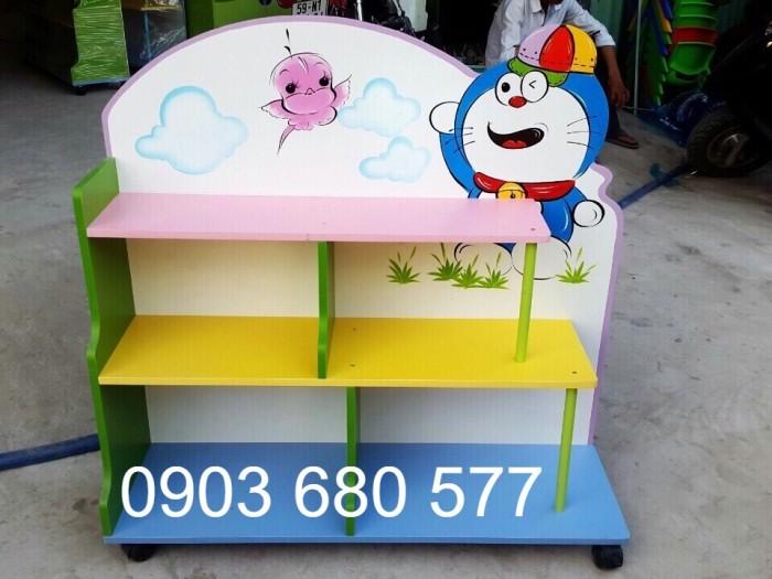 Tủ kệ mầm non cho bé giá rẻ8