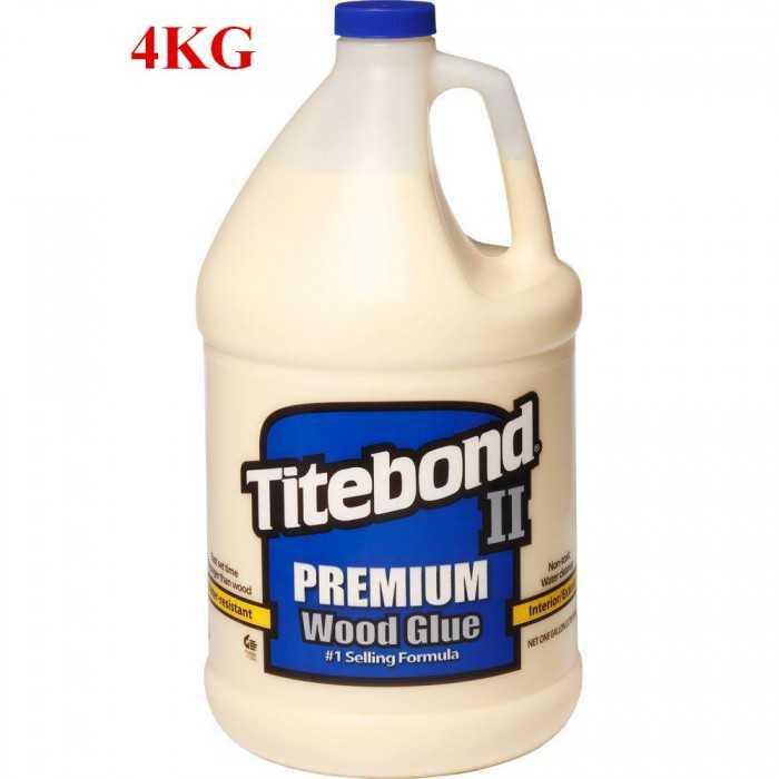 Titebond II Premium Wood Glue là nhãn hiệu hàng đầu duy nhất trong các loại keo một thành phần vượt qua tiêu chuẩn ANSI II quy định về khả năng kháng nước.0
