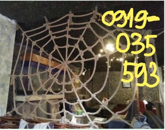 Lưới mạng nhện mua ở đâu thì tốt nhất lưới an toàn bằng dây thừng kiểu mạng nhện