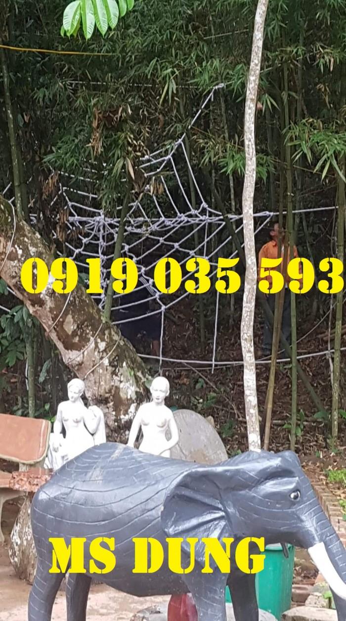 Lưới mạng nhện mua ở đâu thì tốt nhất lưới an toàn bằng dây thừng kiểu mạng nhện0
