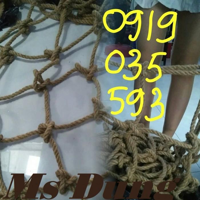 Lưới an toàn bằng dây thừng chuyên làm leo trèo vận động ngoài trời đi dã ngoại8