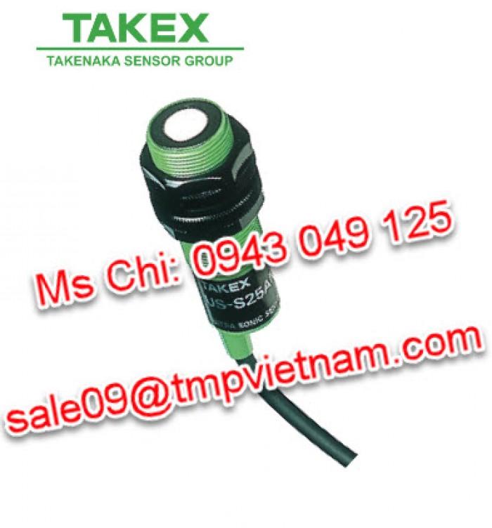 Cảm biến siêu âm US-S25AN Takex, Đại lý Takex Việt Nam0