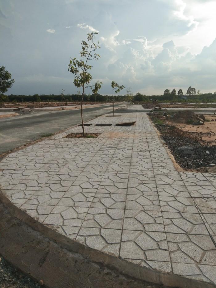 Bán gấp lô đất KDC Long Việt An mặt tiền đường Bắc Sơn - Long Thành hướng Đông Bắc 128m2
