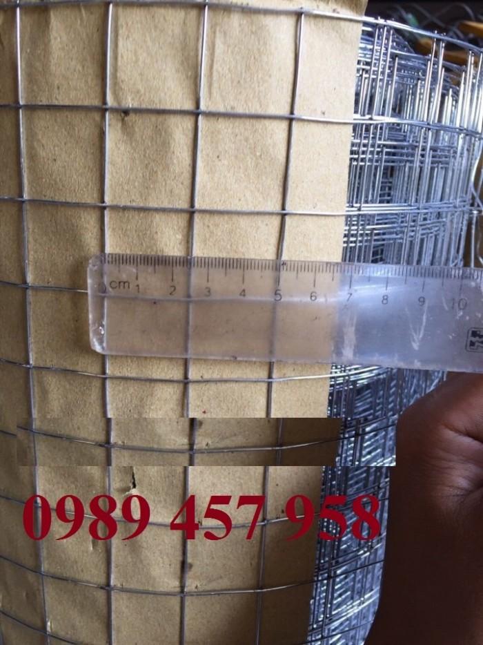 Lưới hàn mạ kẽm phi 2 mắt 25x25 khổ 1m, 1,2m, 1,5m hàng có sẵn6