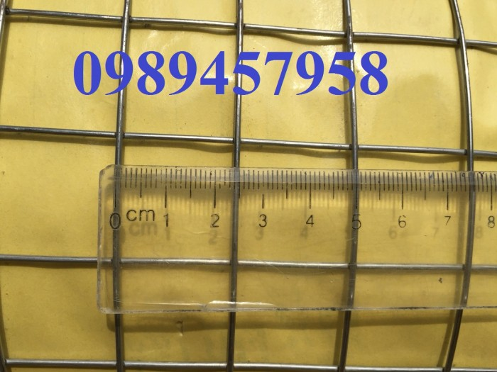 Lưới hàn mạ kẽm phi 2 mắt 25x25 khổ 1m, 1,2m, 1,5m hàng có sẵn5