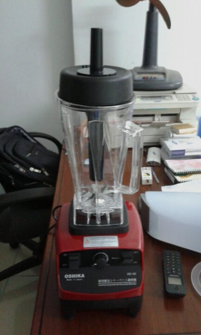 Máy xay sinh tố công nghiệp Nhật Bản Oshika chuyên dùng cho quán cafe0