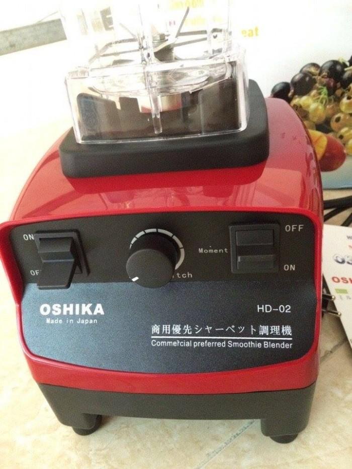 Máy xay sinh tố công nghiệp Nhật Bản Oshika chuyên dùng cho quán cafe2