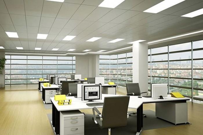 văn phòng view kính 87m2