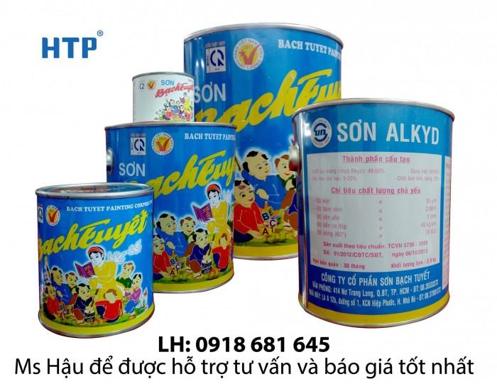 Sơn dầu Bạch Tuyết giá rẻ tại quận Tân Bình1