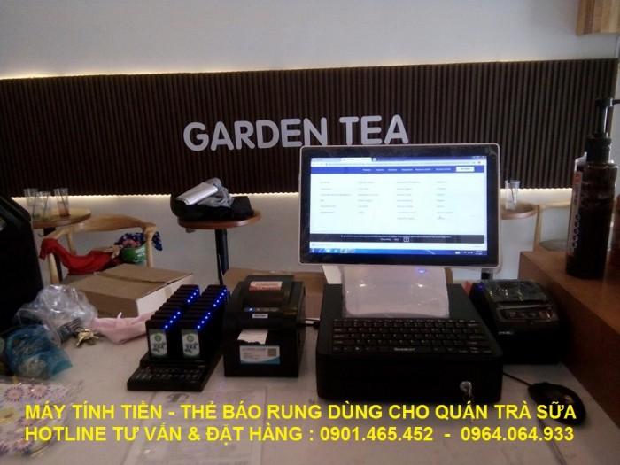 Nhận lắp đặt Trọn gói Máy tính tiền cho Quán Cafe Trà Sữa tại Bắc Giang Bắc Ninh14