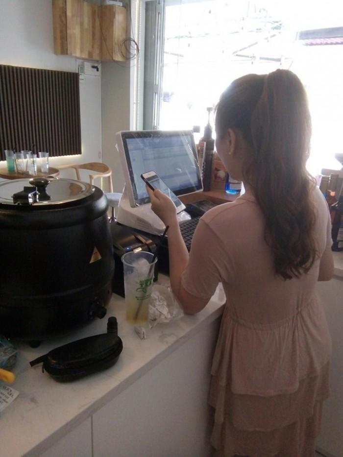 Bán Máy tính tiền cho Quán Cafe Trà Sữa tại Bình Dương Đồng Nai5