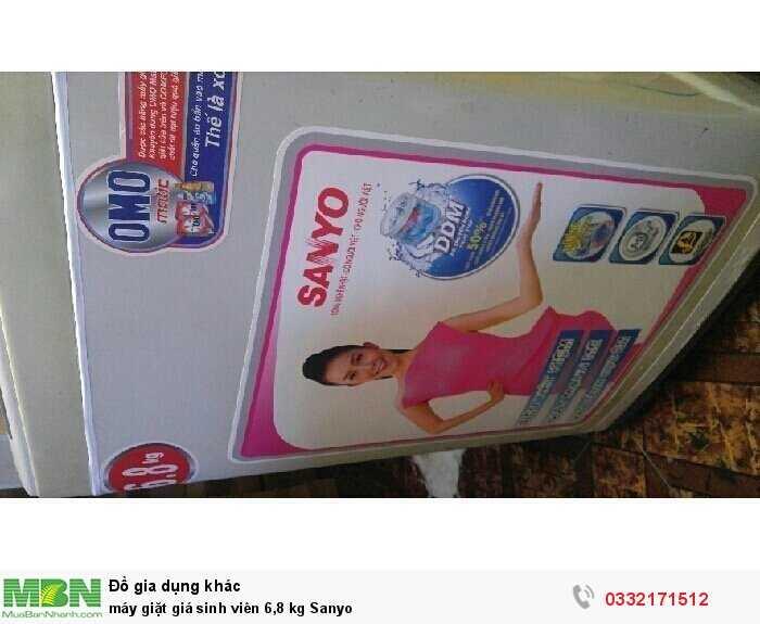 máy giặt giá sinh viên 6,8 kg Sanyo0