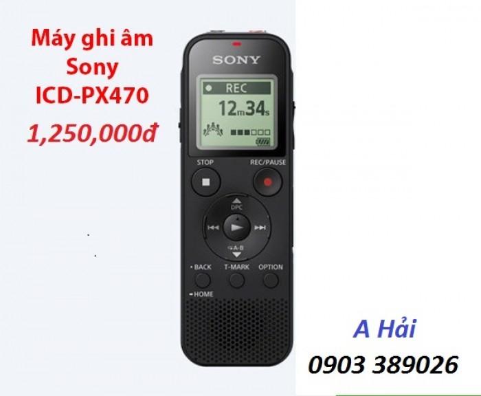 Máy ghi âm Sony ICD-PX470 giá bán tại Điện máy Hải giảm còn 1250K/ cái3