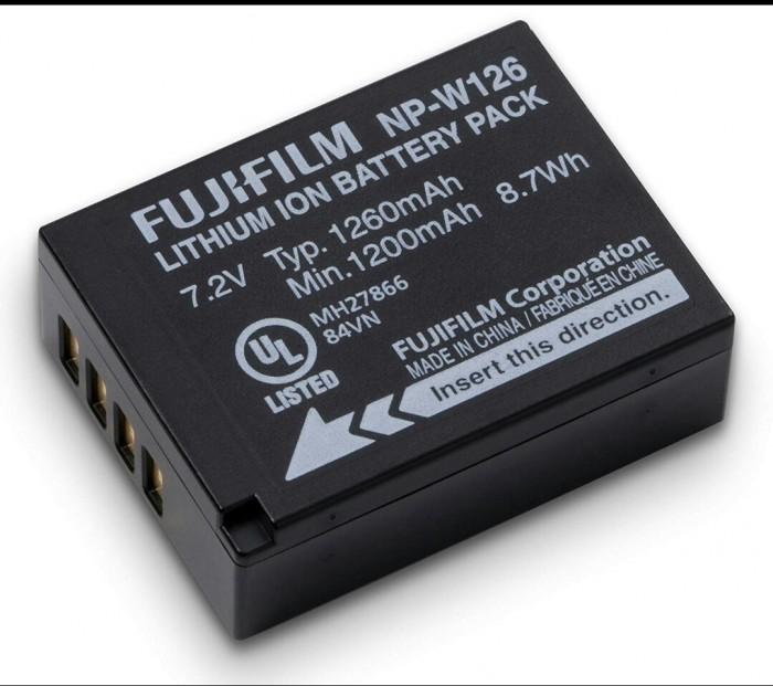 Pin Máy Ảnh Fujifilm NP-W126S Cao Cấp2