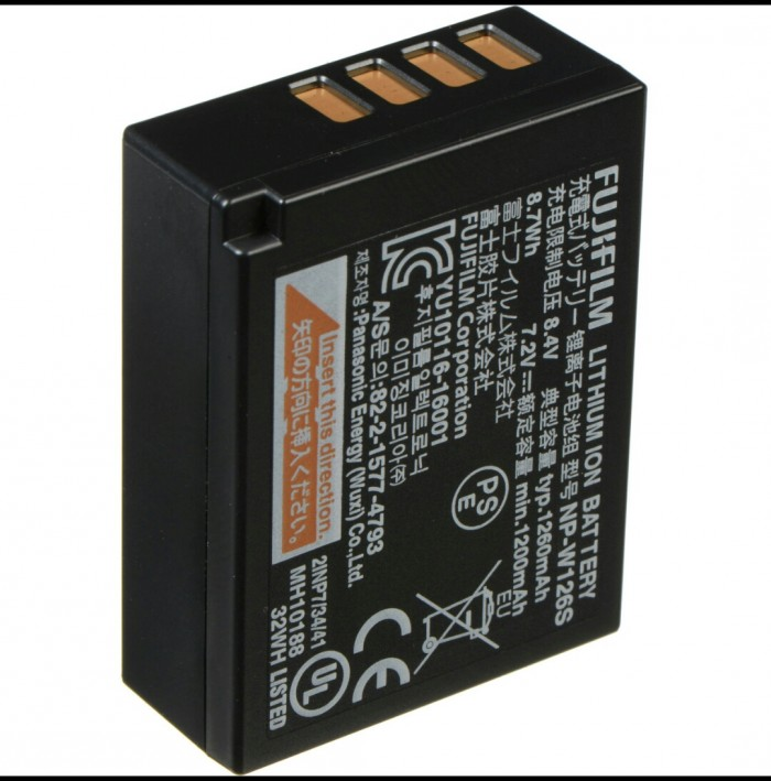 Pin Máy Ảnh Fujifilm NP-W126S Cao Cấp0