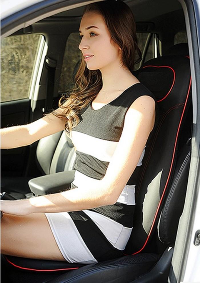 Ghế mát xa ô tô,đệm massage ô tô hàn quốc  AYS 888V5 Với 8 Viên Bi Massage0