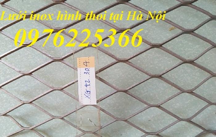 Lưới inox hình thoi tại Hà Nội1