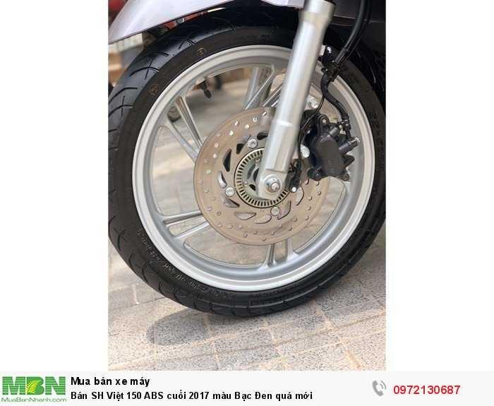 Bán SH Việt 150 ABS cuối 2017 màu Bạc Đen quá mới