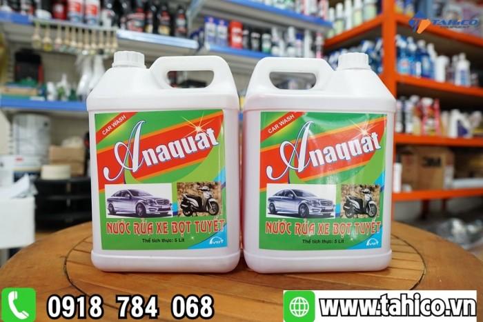 Dung dịch rửa xe bọt tuyết Anaquat 5L1