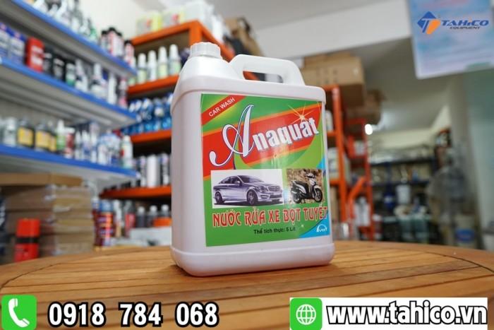 Dung dịch rửa xe bọt tuyết Anaquat 5L2