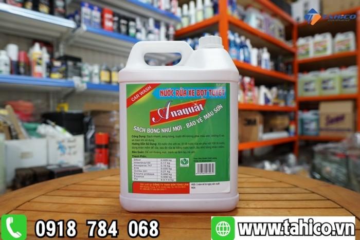 Dung dịch rửa xe bọt tuyết Anaquat 5L3