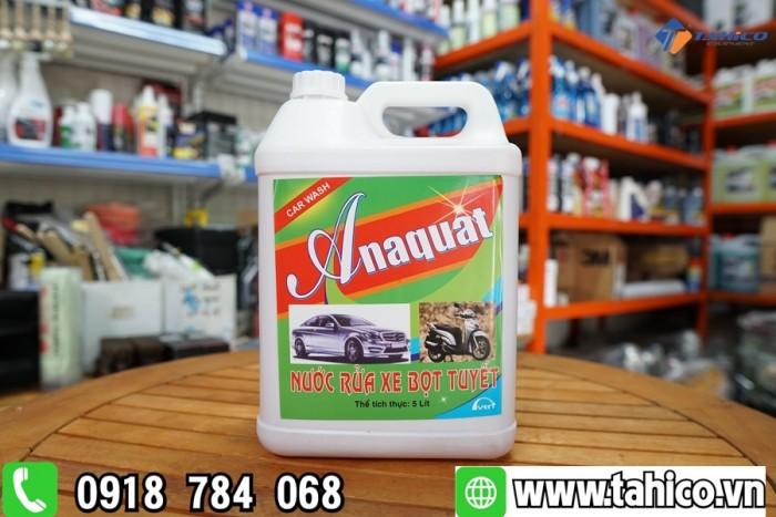 Dung dịch rửa xe bọt tuyết Anaquat 5L0